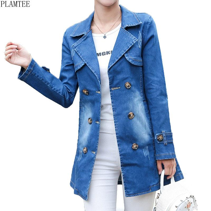 e4117488bf5 New Arrival Large Size Denim Jackets For Women Loose Chaqueta Mujer ...