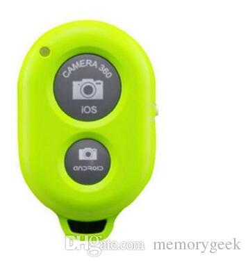 Faydalı Kablosuz Bluetooth Zamanlayıcı Deklanşör Kamera Uzaktan Kumanda ile iPhone 5 6 Samsung Akıllı android Telefon için Fotoğraf