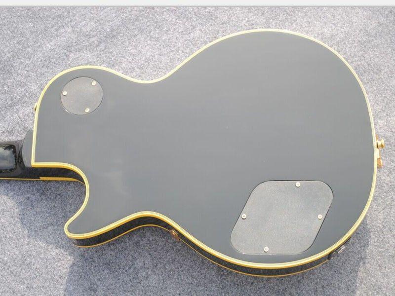 Custom 3 Pickups Black Beauty Electric Guitar Mahogany Body