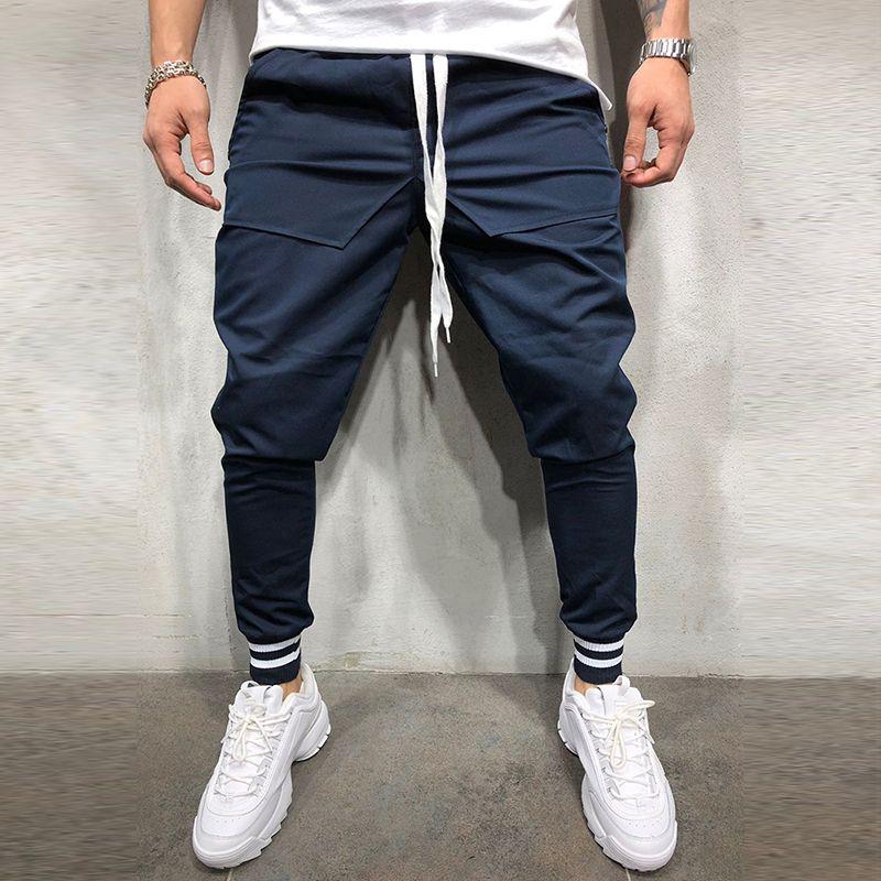 Acquista Huation 2018 Uomo Pantaloni Hip Hop Abbigliamento Sportivo Fitness Jogging  Pantaloni Uomo Streetwear Pantaloni Da Ginnastica Palestre Pantaloni ... ecefddc8ce4b