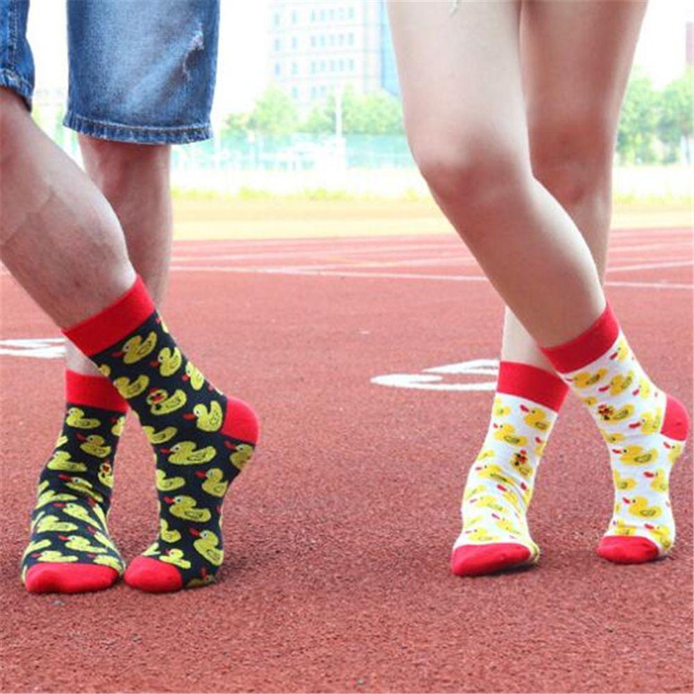cd75fe21d9830 2019 Men Cartoon Hip Hop Cool Yellow Duck Socks Cotton Skateboard Sock Art Funny  Socks Personality Tide Pet Elf Sox Casual For Lovers From Westlakestore, ...