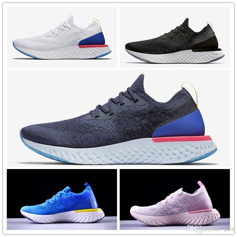 9d997cab14e8 Hot Sale Epic React Instant Go Fly Men Women Running Shoes Summer Causal Mesh  Breathable Sport Athletic Trains Designer Sneakers Mens Trail Running Shoes  ...