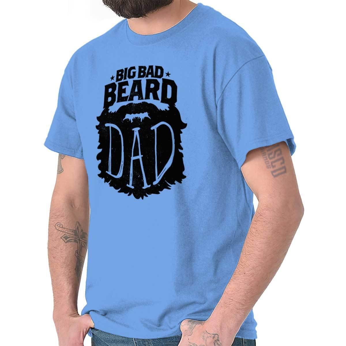 6e3fb586 Details Zu Big Bad Beard Dad Daddy Papa Father Mustache Bearded Hair T  Shirt Tee Funny Unisex Casual Tee Gift Awesome Cheap T Shirts Online  Shopping For T ...