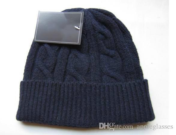 Compre Diseñador De La Marca HOT Moda Para Hombre Sombreros De Invierno  Mujer Cálidos Sombreros Sombreros Chicas Lindas Gorro Al Aire Libre Gorra  Sombreros ... 76d120b1a6c