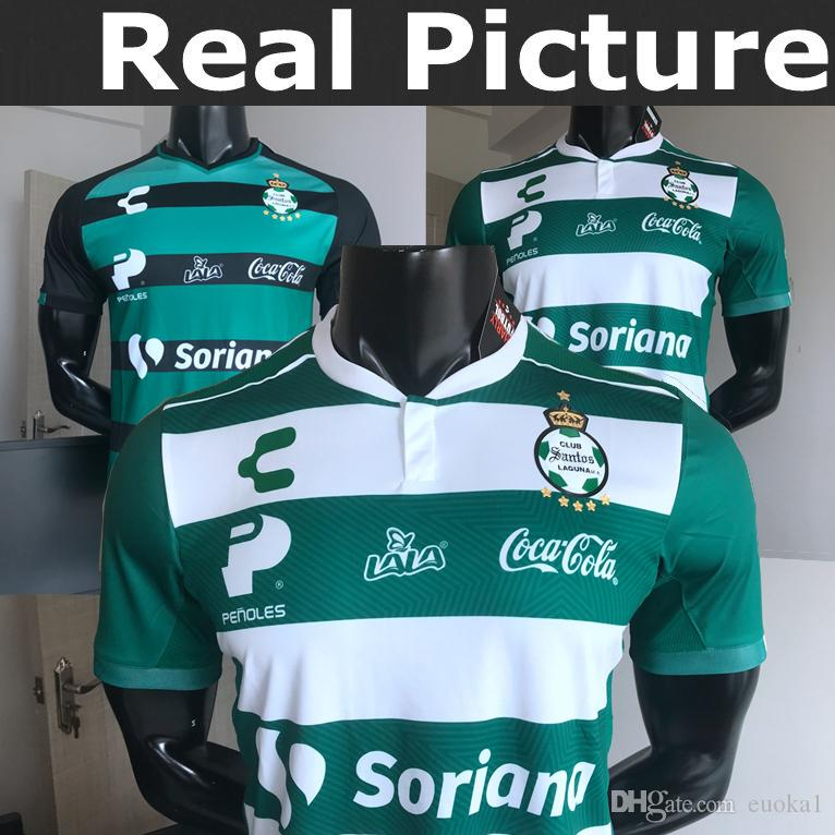 4b99e30a1e 2019 TOP Best MADE IN MEXICO SANTOS LAGUNA CHARLY ARMENTEROS 18 FURCH 9  J.ABELLA 2 J.CORTES 27 HOME AWAY RUGBY JERSEY From Euoka1