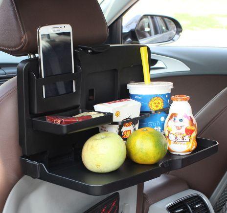 2018Multi Function Car Seat Transfer Table Tray Computer Use Box Back Organiser Organizer From Yatnamkwan 1579