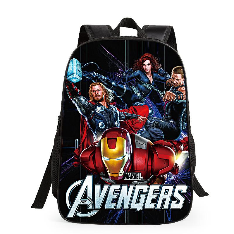 6a0638f886ed Infantil Kids Escolares Mochila The Avengers Backpack School Bag Children  School Bags Iron Man Boys Bookbag Gift Girls Toddler