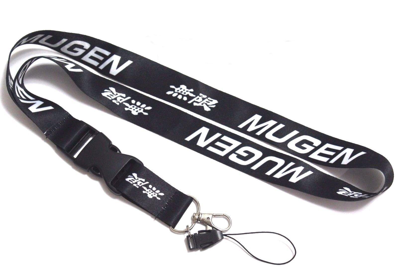 Mugen Jdm Lanyard Neck Key Chain Strap Quick Release Honda Acura - Acura lanyard