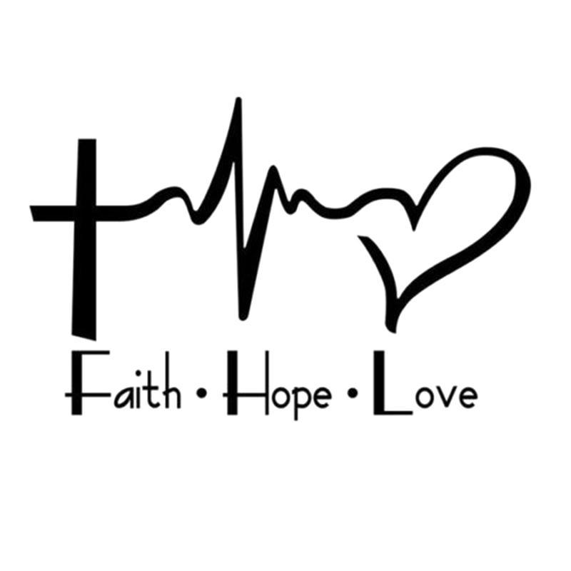 hope love Faith