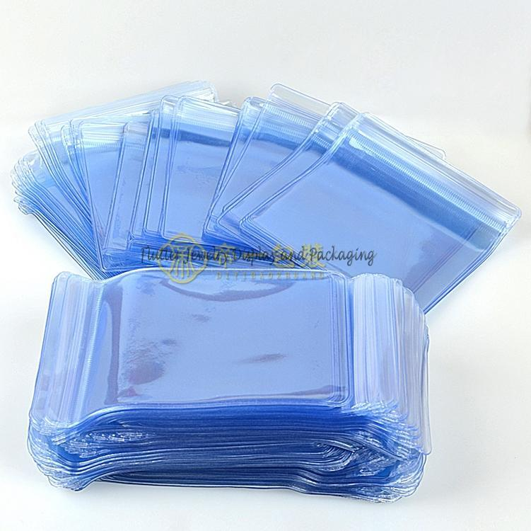 100 teile / los PVC Verdicken Schmuck Verpackung Taschen Schmuck Ziplock Beutel Armband Halskette Verpackung Tasche Kunststoff Geschenk Taschen