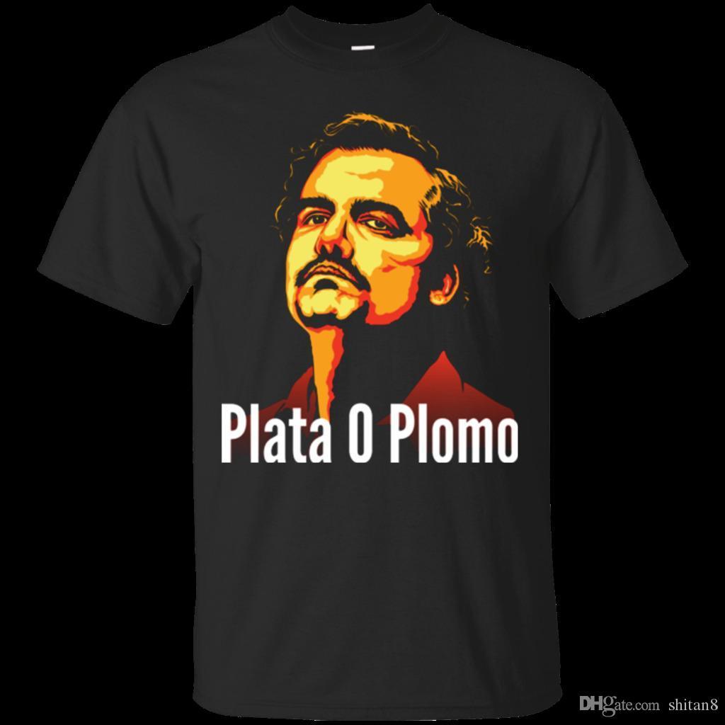 7ba4562f11d Plata O Plomo Men s T-Shirt Clothing Men Short Sleeve Print Casua Print T  Shirt For Men 2018 Summer O-Neck Tops