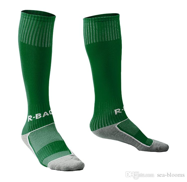 Long Soccer Socks Non-slip Sport Football Ankle Leg Shin Guard Children's Compression Protector Cycling Socks Free DHL H102S