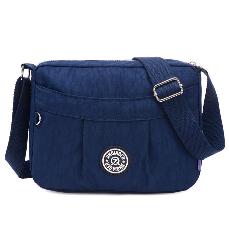 Waterproof Nylon Shoulder Bag Female Crossbody Bags for Women ... 2b2be97dd7036