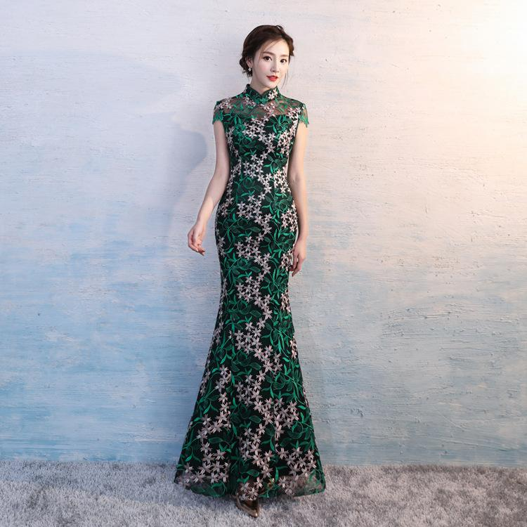 Hyg0038 New Traditional Modern Chinese Dresses Qipao Cheongsam
