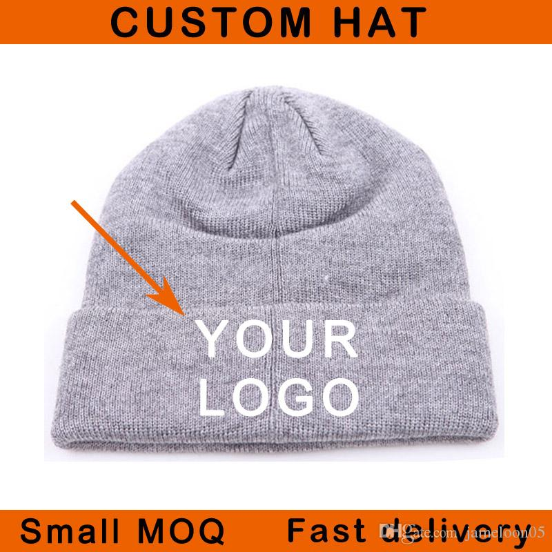 1c9383b450653 Small Moq On Sale Winter Hat 3D Stitching Acrylic Material Unisex Fitted  Size Sport Warm Hat Custom Cap Beanies Caps Online Hats And Caps From  Jameloon05