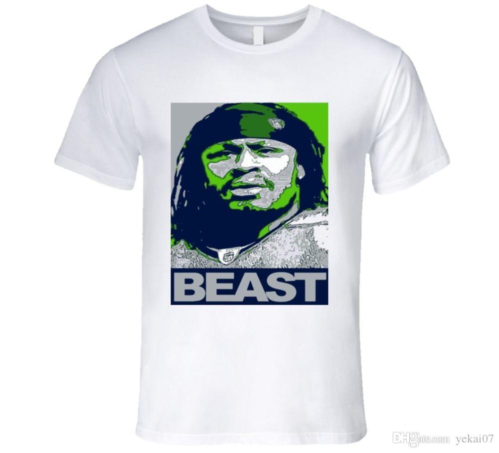 Marshawn Lynch Running Back Seehawks Seattle T Shirt New 2018 Hot