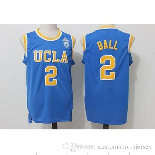 d083f689c ... promo code for ncaa lonzo ball 2. ucla bruins stitched college blue basketball  jersey xs