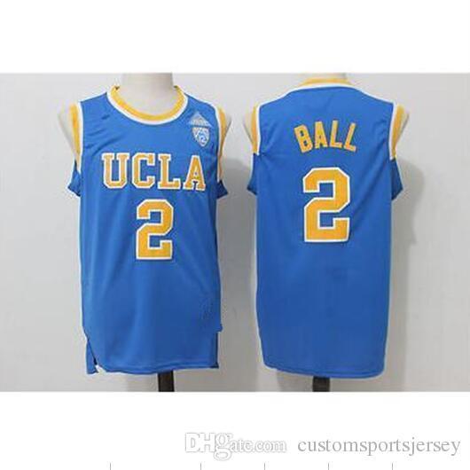 eb43e102b ... promo code for ncaa lonzo ball 2. ucla bruins stitched college blue  basketball jersey xs