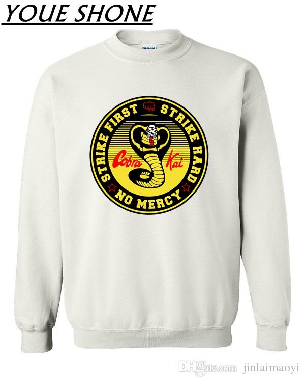 9599ff5a2f5 Verano Cobra Kai Sweatshirts Men S Karate Jersey Pullover Mamba Cosplay  Costume Kobe Bryant Sportwear Coat Plus Size UK 2019 From Jinlaimaoyi