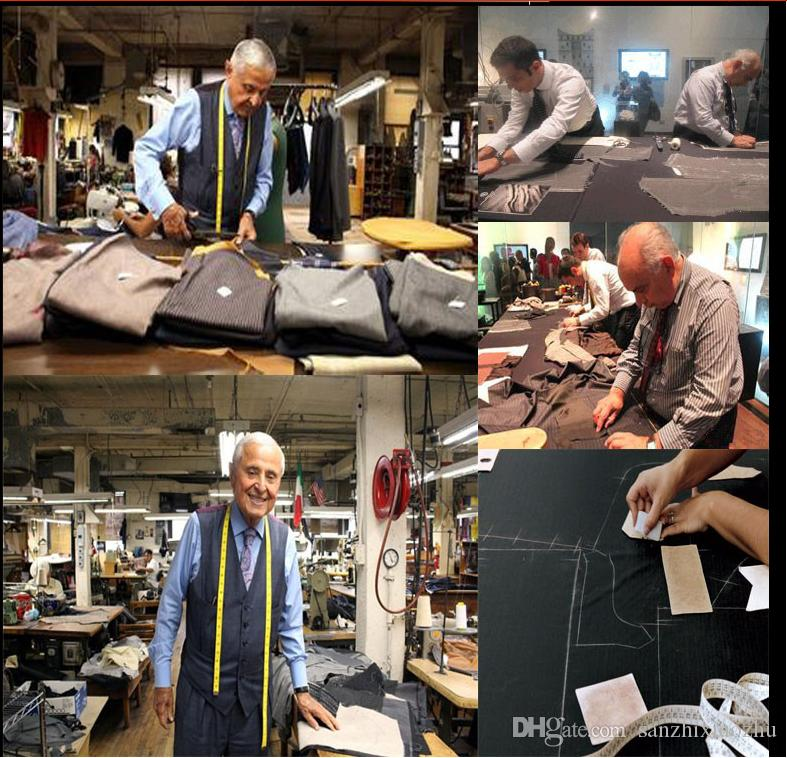 Fashionable men suit Black Tailcoat Groom Wedding Tuxedos suit 2018 Groomsmen Mens Suit Bridegroom wedding suits for men