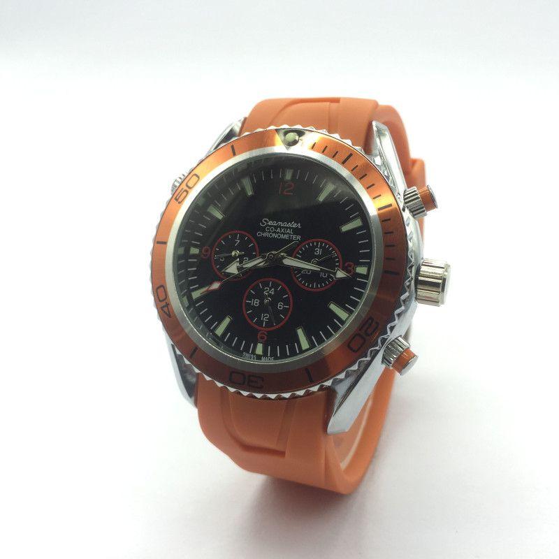2734cf74063 Compre Venda Por Atacado Marca De Luxo Perpetual De Aço Inoxidável  Silicaone Mens Sport Watch Relogios Masculinos Relógios À Prova D  Água  Militares Dos ...