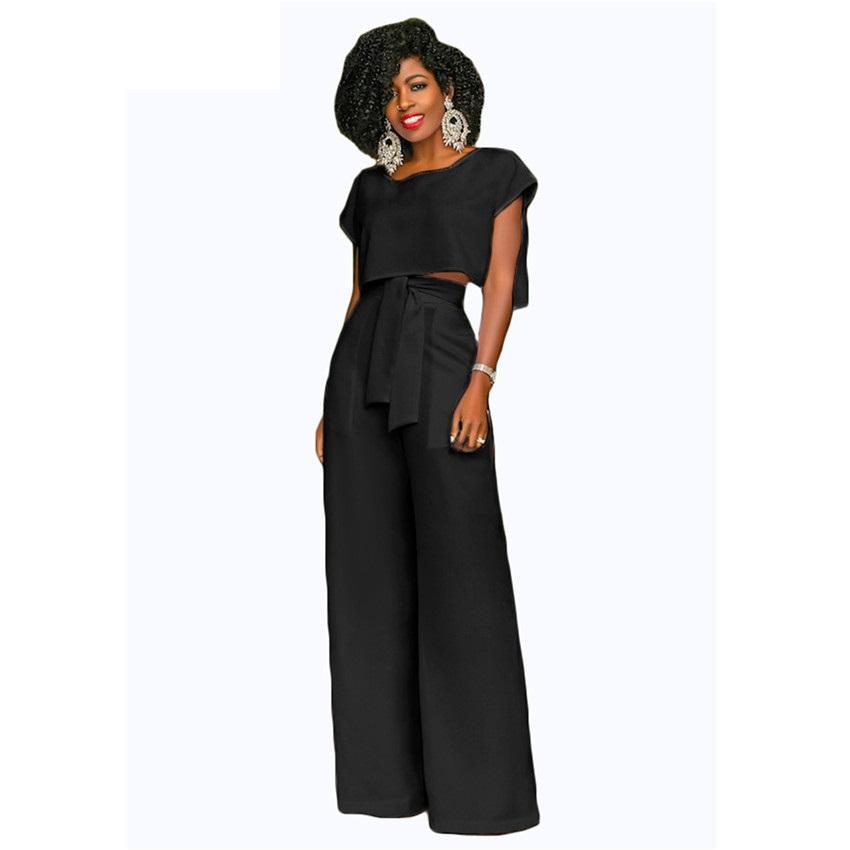2019 Women Casual Jumpsuits Wide Leg Pants Fashion Summer Rompers Womens  Jumpsuit Loose Party Overalls Female From Beimu ba8da0e6b