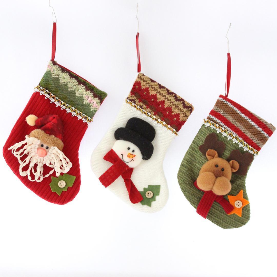 Großhandel Weihnachtsstrumpf Geschenktüte Rentier Weihnachtsmann ...