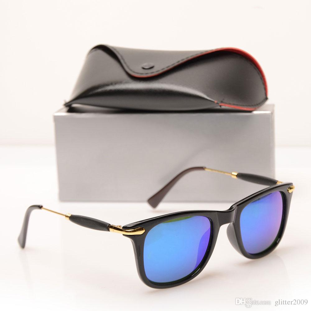 New Fashion Men Sunglasses Women Brand Designer Fashion sun glasses mens sunglasses glasses beach glasses Brand Sunglasses With case and box