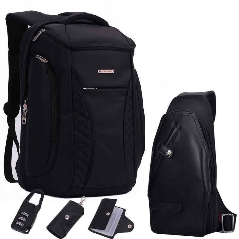 135600472a58 GOOG.YU Brand Cool Urban Backpack Men Unisex Light Slim Minimalist Fashion  Backpack Men 14 15 Laptop school bag