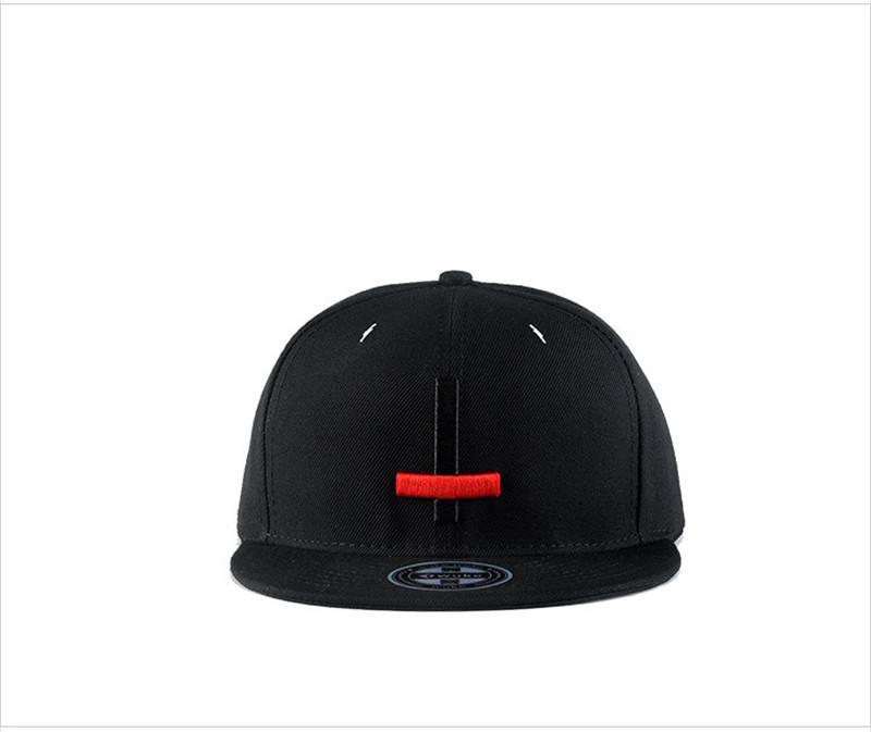 Hip Hop Cross Snapbacks 6 Panel Adjustable Baseball Caps Mens Women Hiphop Black Skateboard Hat Korea Fashion Cap