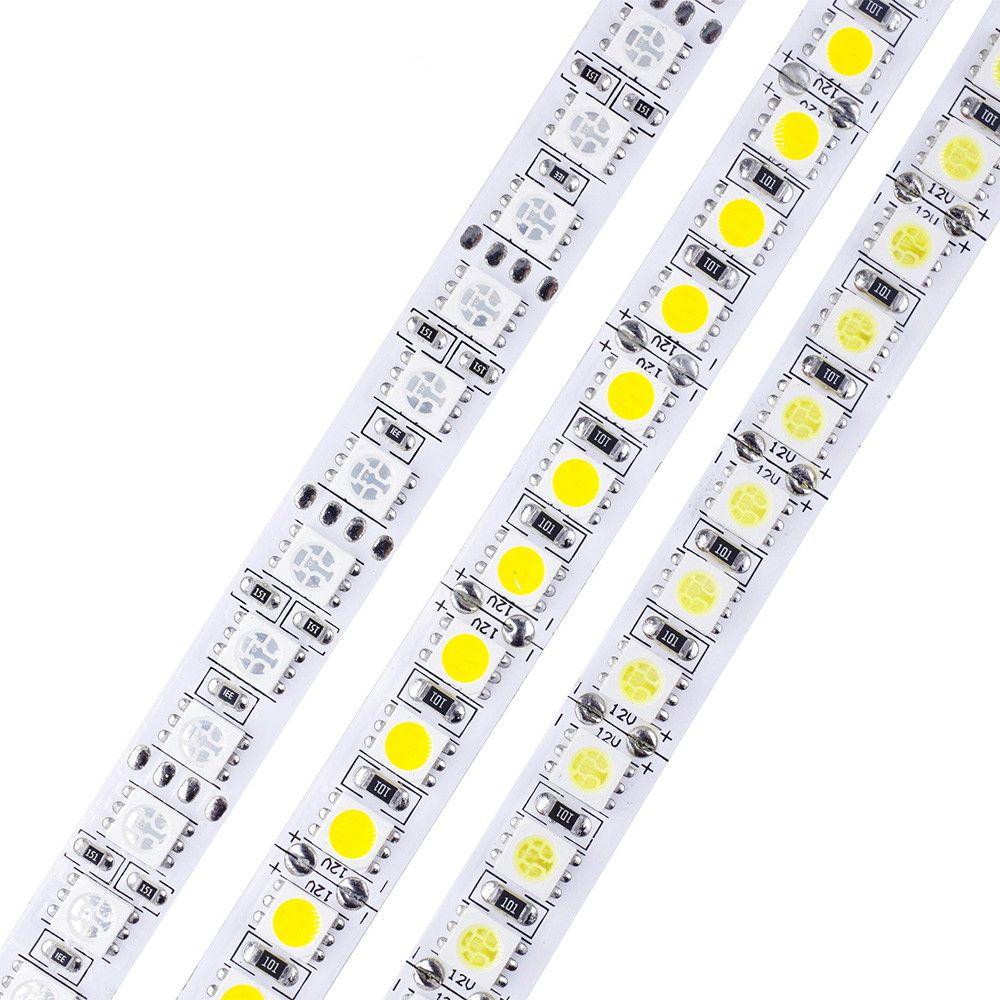 Chaud Blanc Roll Rvb 600 Led 5050 Lumineuse M Dc 5m Bande 12v 120 Flexible Smd uTKl1F3Jc