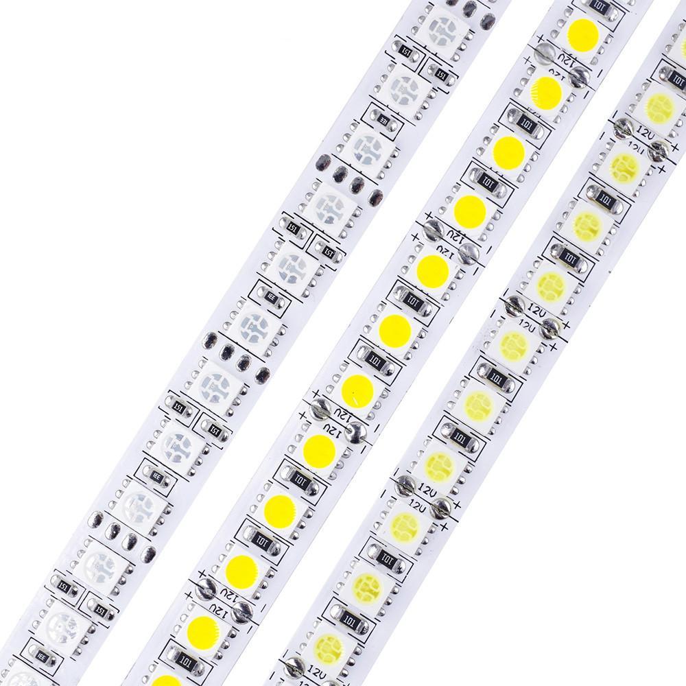 5m/roll 600 LED SMD 5050 LED Strip Light DC 12V flexible LED Tape light 120  led/m white / warm white / RGB