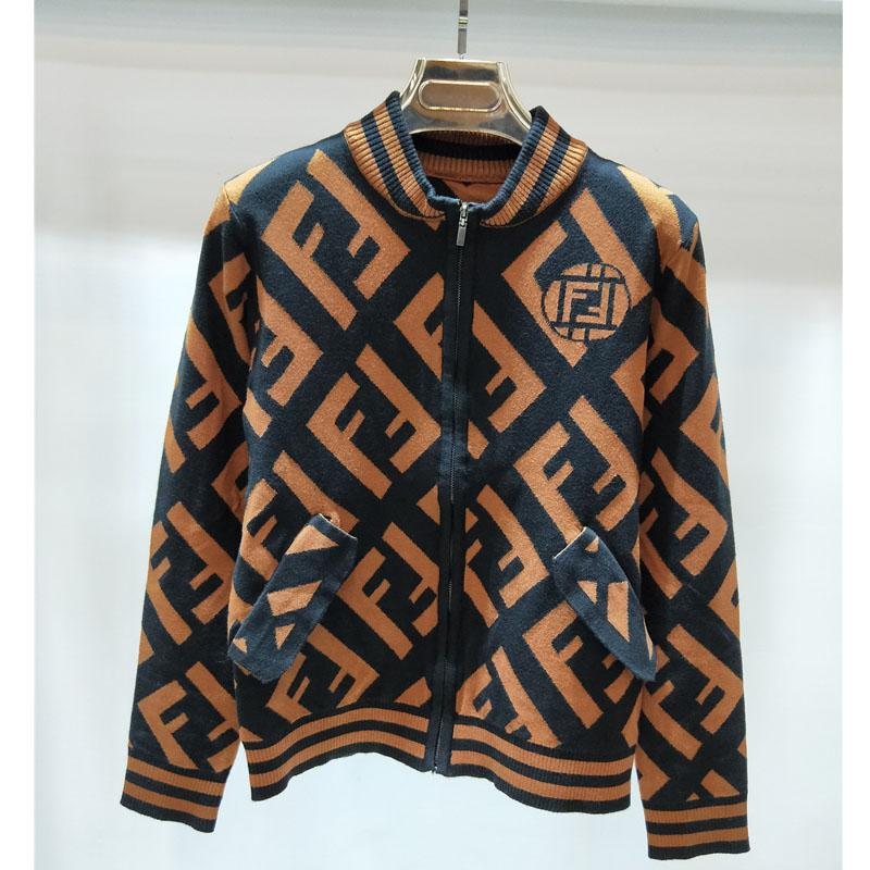 2019 2018 Women Designer Letter Sweaters Luxury Knit Cardigan Coat Female  Size S L Brand Women Letter FF Knitted Jackets Womens Long Sleeve From  Popoof ca303de22c