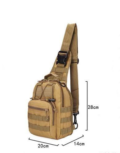 Hotsale 9 Farbe 600D Outdoor Sports Schulter Militär Camping Wandern Taktische Tasche Camping Jagd Rucksack Utility Brusttasche