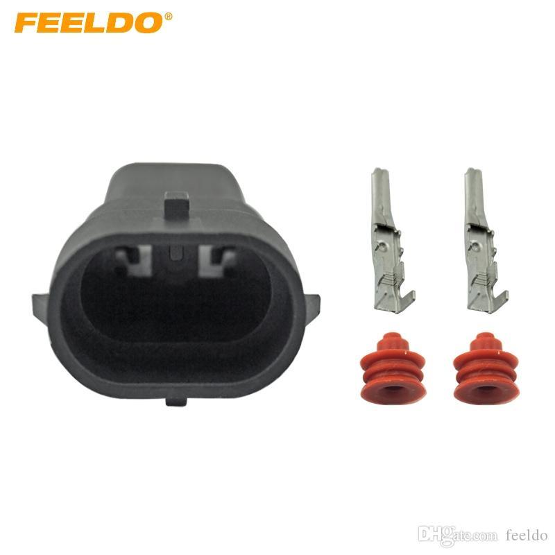 2pcs H11 H8 880 881 Headlight Fog Light Male Plug Pigtail Wire Harness HID LED
