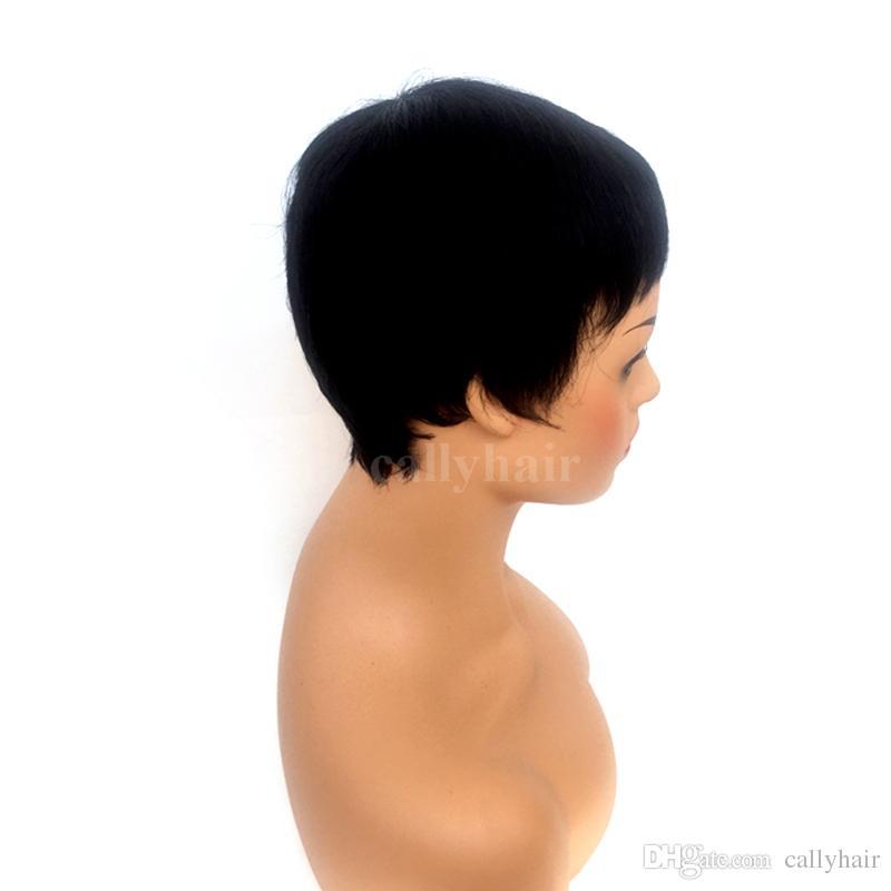 قصيرة الرباط الجبهة الباروكات بوب الإنسان الشعر بوب الباروكات حلاقة عذراء البرازيلي قصيرة متموجة غلويليس يشبع الإنسان باروكة شعر للنساء السود