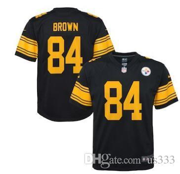 2018 2019 84 Antonio Brown Jersey Alejandro Villanueva Pittsburgh Steelers  American Football Jerseys Best Seller Hot Sale Flash Deals Nice 80% From  Us444 8277373185e