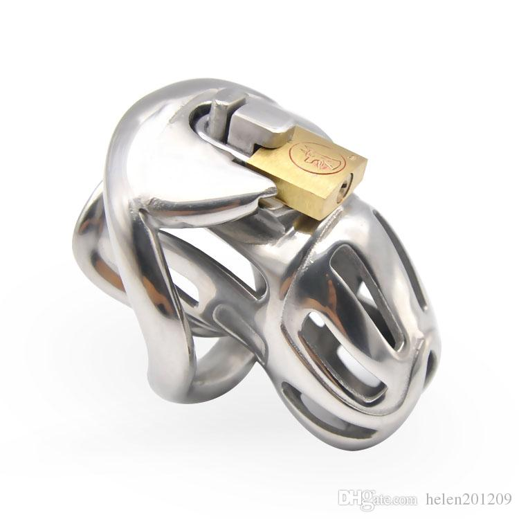 New Design 316 Stainless Steel Male Chastity Device Sex Toy A370-SS