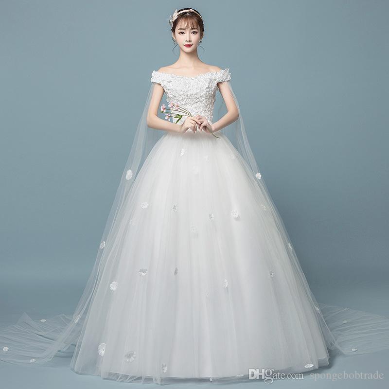 compre factory outlet moda mujer vestido de novia de encaje una