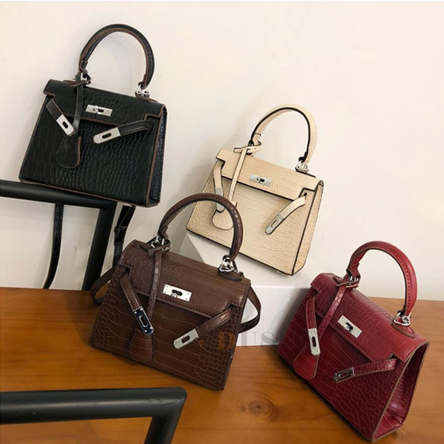 Luggage & Bags Womens Bag Alligator Bags Anti-theft Luxury Handbags High Quality Crocodile Designer Shoulder Female Messenger Women Bags Top-handle Bags