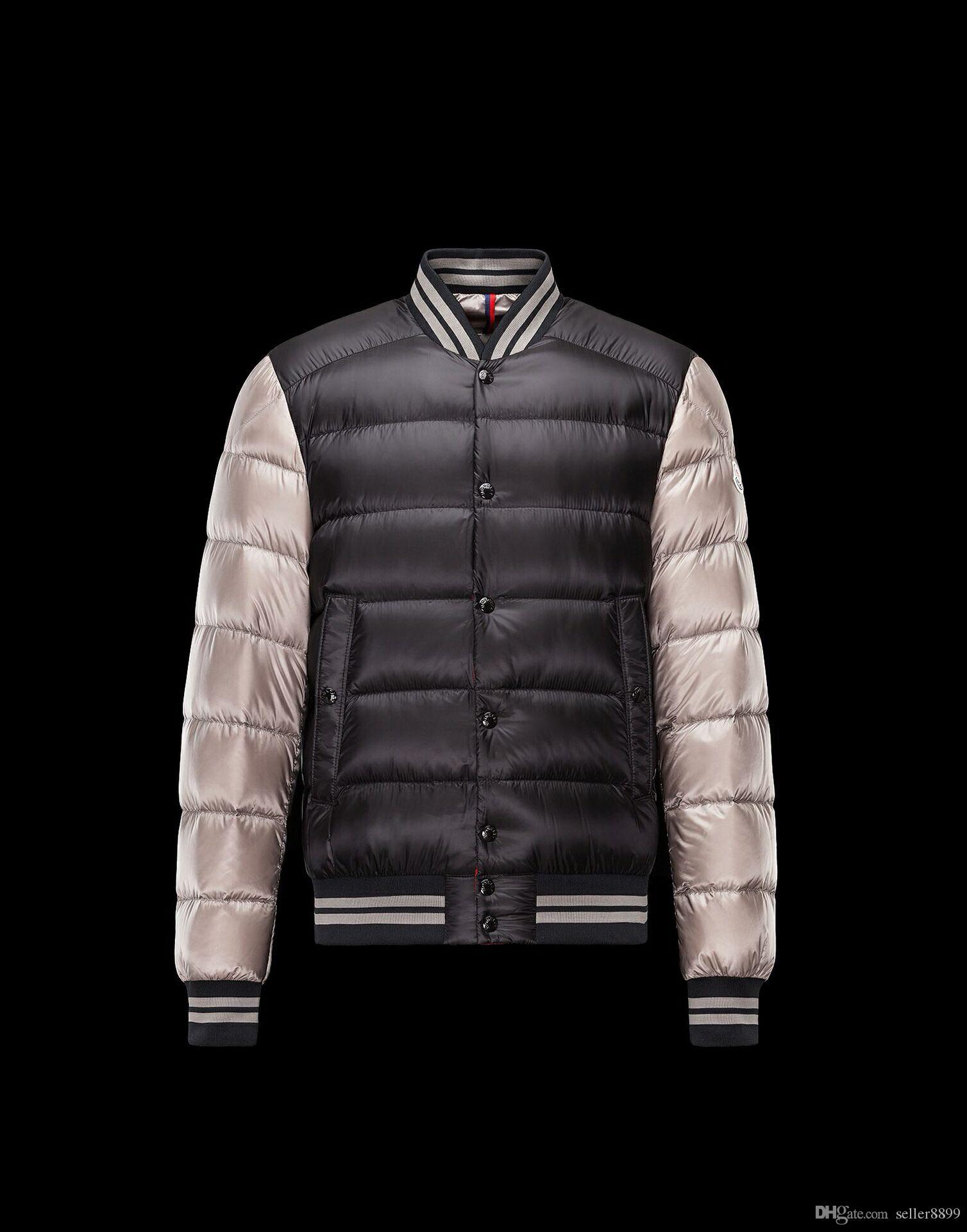 6d16c00a61d8 2019 2018 Brand M Men Down Jacket Luxury Designers Lightweight Duck Mens  Down Coats 90% Winter Warm Clothes Short Outwear From Seller8899