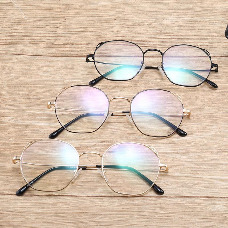 Compre Moda Gafas Ópticas Redondas Lente Transparente Miopía Gafas Mujeres  Gafas De Metal De La Vendimia Gafas Marcos Para Mujeres FML A  45.72 Del  W245 ... 3bbc3958c7