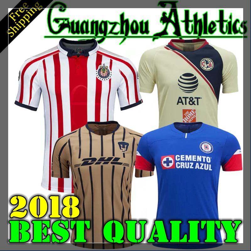 82148c54b5c Tijuana 2019 LIGA MX Club America Cuervos Cruz Azul Soccer Jerseys ...