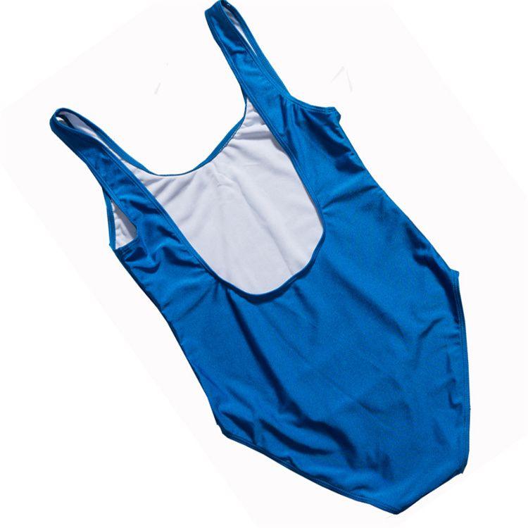 Rench beijou One Piece Swimsuit 2018 Sexy Thong Rosa Lábios Swimwear Mulheres Alta Corte Maiô Meninas Preto Bodysuit monokini YWXK