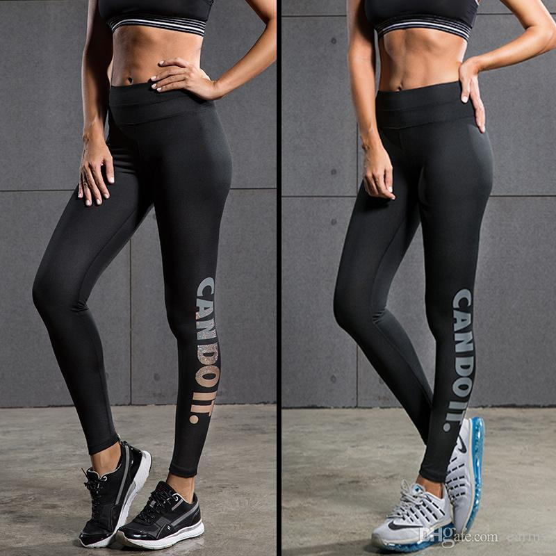 8a1251abcb272 2019 Wholesale 2016 Women'S Running Pants Compression Tights Sexy Hips Push  Up Leggings Fitness Yoga Pants Quick Dry Elastic Trousers From Earmy, ...