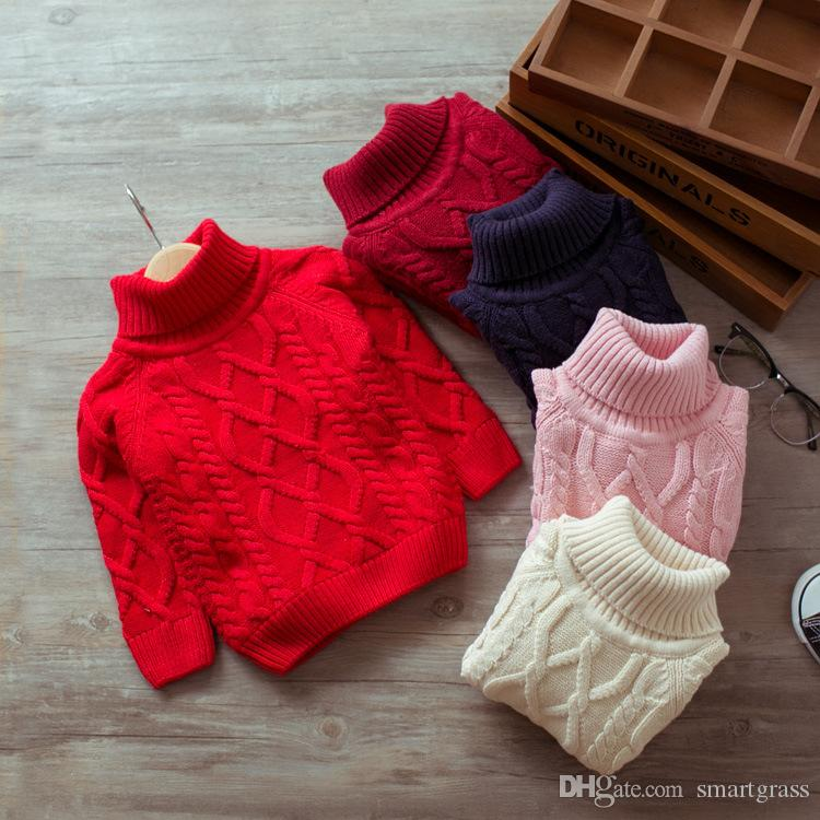 36d4fc06d Classical Sweater For Girls Boys Autumn Winter Baby Clothes Fleece ...