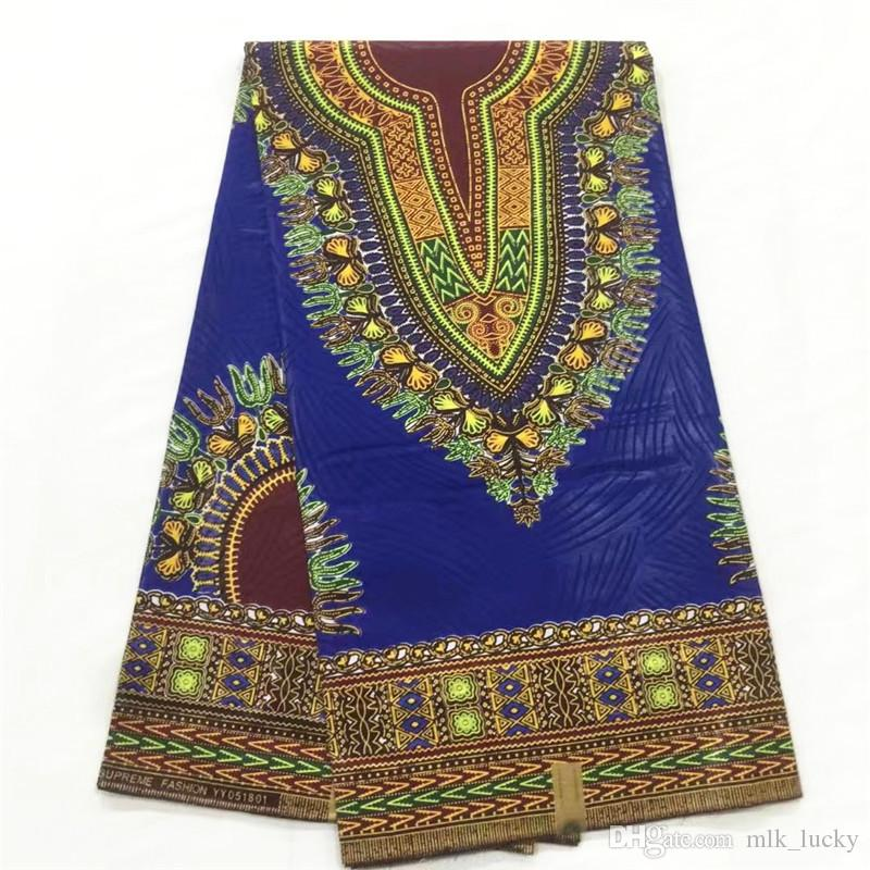 african wax print fabric for wedding real wax block print fabric high quality ankara wax fabric cotton garment material 6yards piece