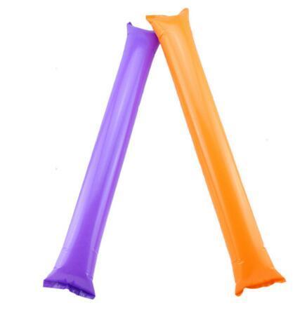 60 cm badajo ballon playa inflable Palos porristas juego de deportes hasta palillo partido ventilador palo que anima palillo inflable