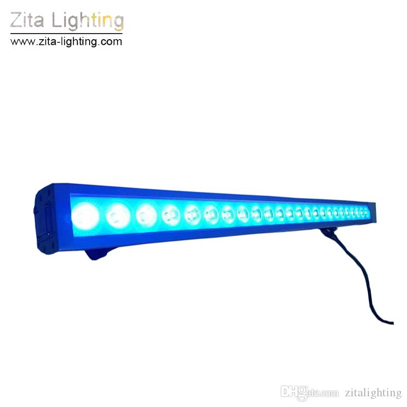/ Zita Éclairage LED 18X3W Mur Rondelle Barre de Lavage En Plein Air 1 Mètre RGB DMX Couleur Changeable Disco Party Club Événement de Tour de l'Événement