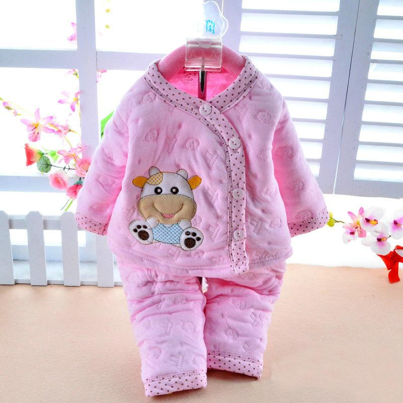 e599274bccb9d 2019 Brands Newborn Baby Clothes 3 6 Months Autumn Winter Baby Girl Clothing  Long Sleeve Infant Boy Clothing Set Suit Coat Outfit From Jeanyme